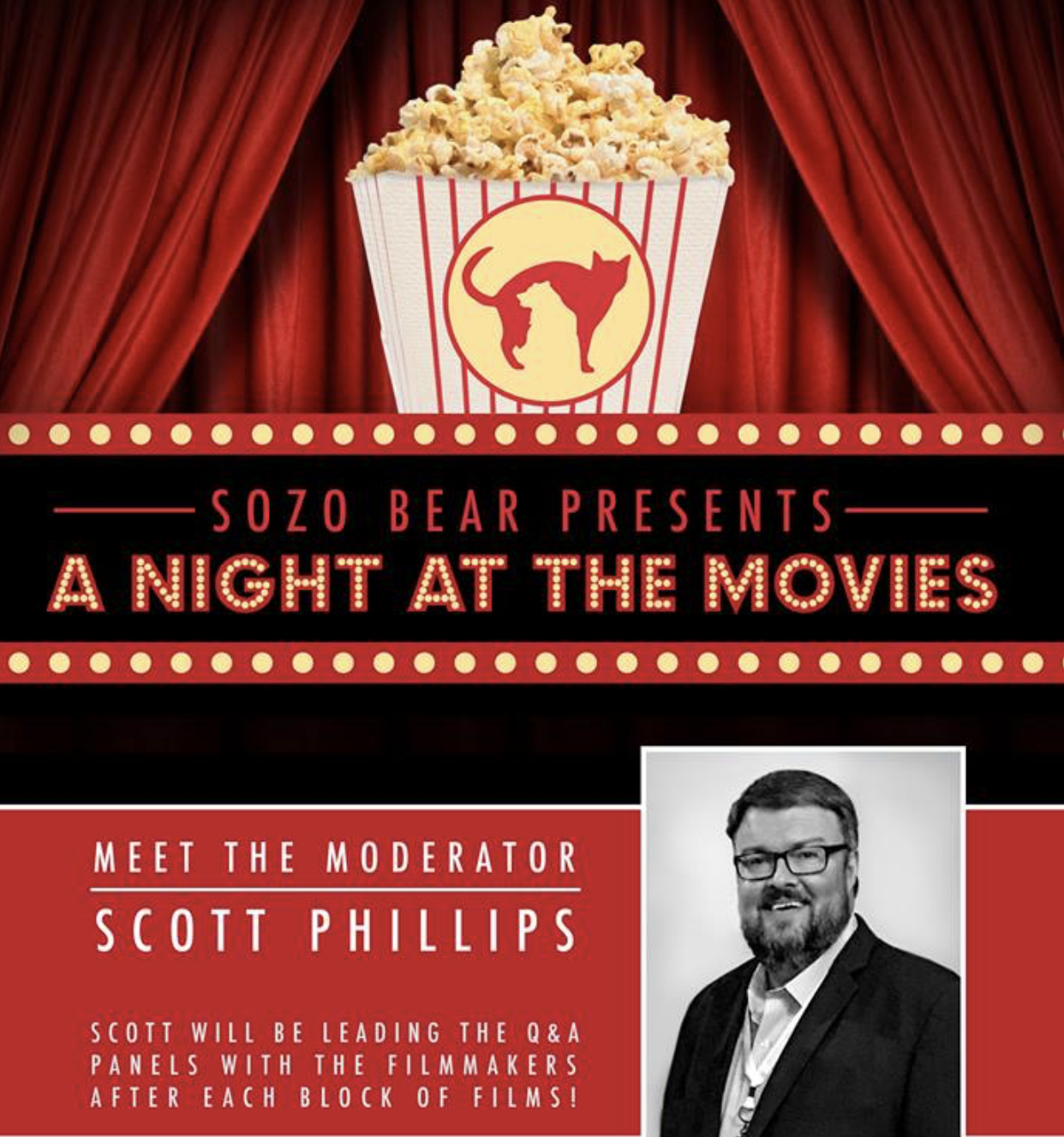 Sozo Bear Film Night Promo