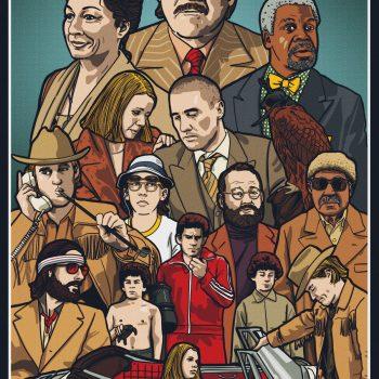 Royal Tenenbaums Movie Poster